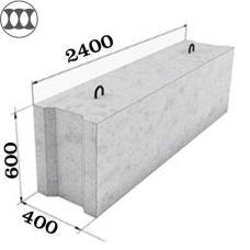 Блок ФБС 24-4-6 фундаментный
